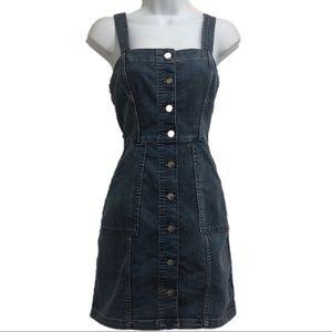 Divided women's blue jean dress size 4